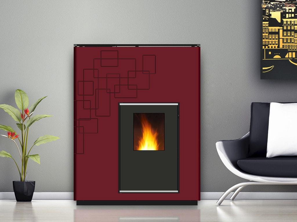 salamandra simone 24 kw smartfire loja online. Black Bedroom Furniture Sets. Home Design Ideas