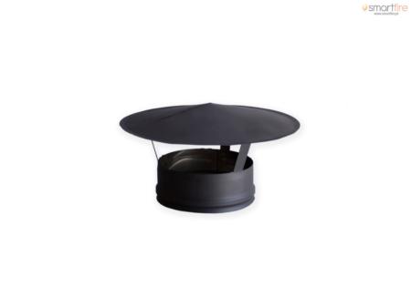 Chapéu Chinês em Aço Inox Brilhante - chapeu-chines-inox-preto