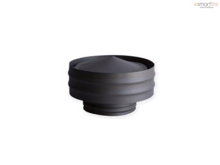 Chapéu Chinês em Aço Inox Brilhante - chapeu-com-aba-inox-preto