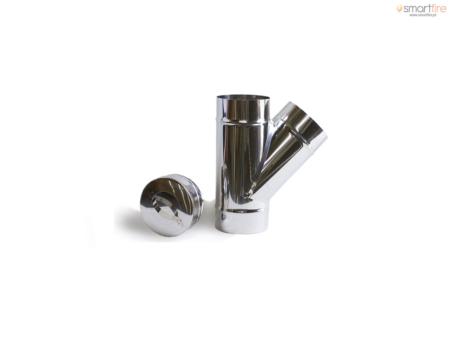 Forquilha com Tampo em Aço Inox - Com Tampo