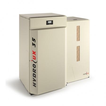 Caldeiras a Pellets Hydrolux 35kW Automática