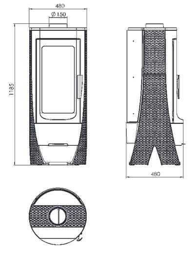 Plamen Nera - Desenho Técnico